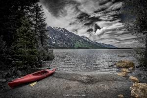 Teton-kayak-pond