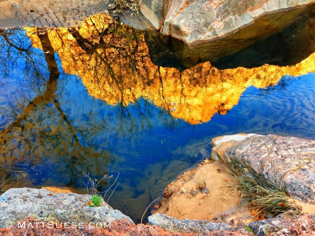 Fall foliage report in Zion National Park 2013 - Matt ...