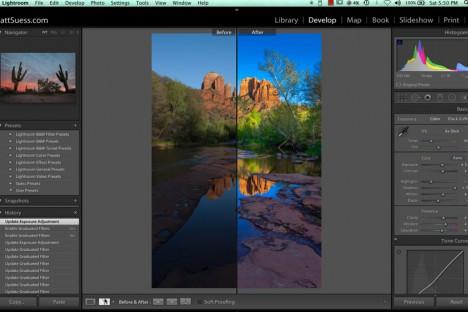 Better Landscape Photos with Lightroom