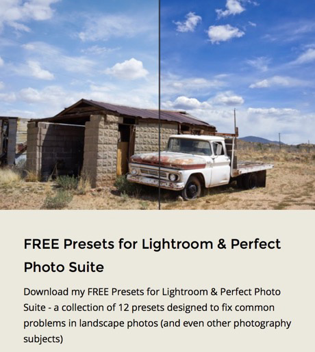 FREE Presets promo