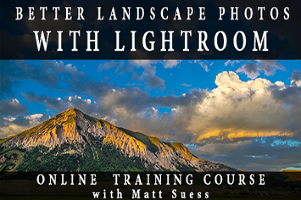 Better Landscape Photos with Lightroom