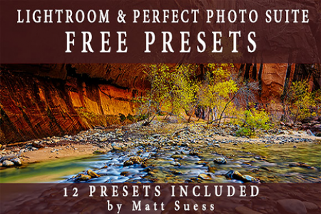 FREE Presets for Lightroom & Perfect Photo Suite