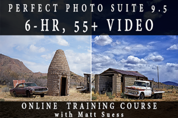 Perfect Photo Suite 9.5 Online Crash Course 6-hour Training Video