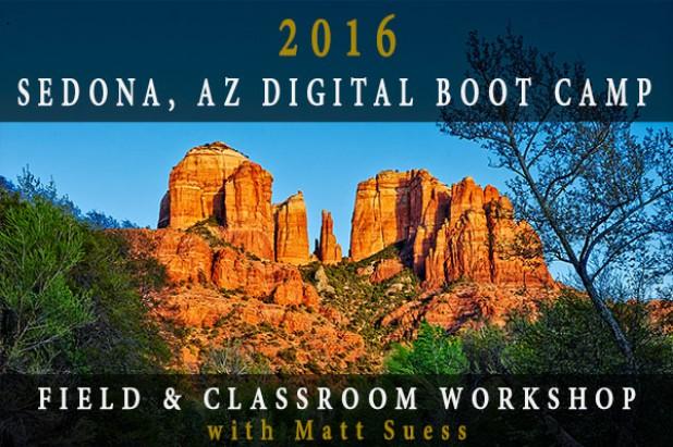 2016 Sedona Digital Photography Boot Camp Spring Workshop