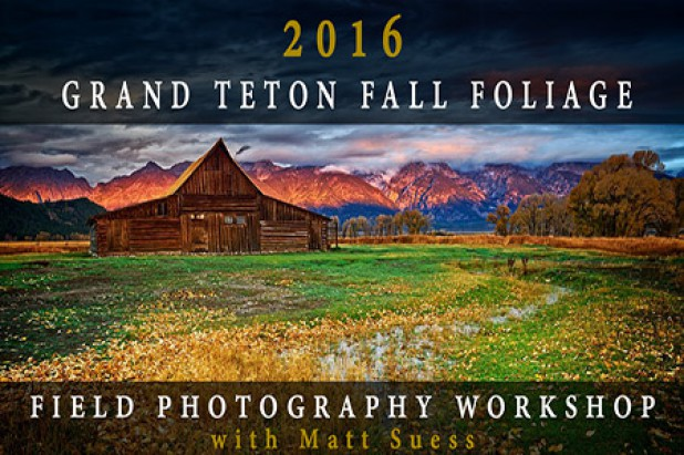 2016 Grand Teton National Park Fall Foliage Field Photography Workshop