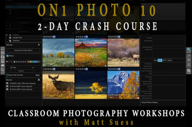 ON1 Photo 10 Two-Day Crash Courses
