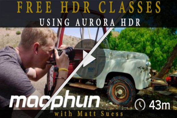 2 FREE HDR Photography Classes Using Aurora HDR